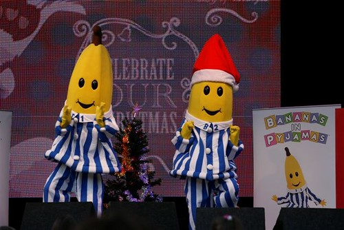 Bananas in Pyjamas Hyde Park | Christmas on the Green 2009 | Flickr