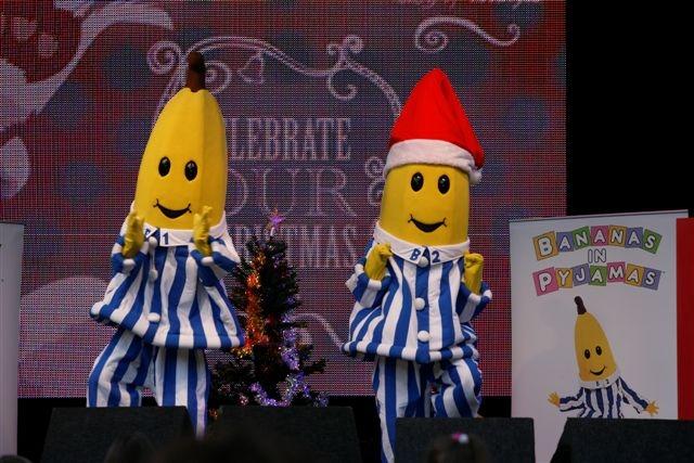 Bananas in Pyjamas Hyde Park : Christmas on the Green 2009 : Flickr