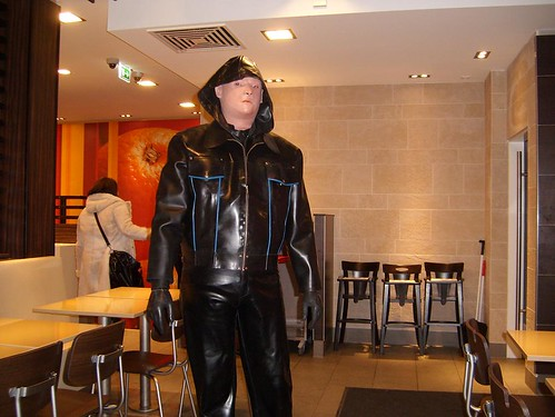 In a MCDonalds complet enclosed in Latex | by rubsubsea