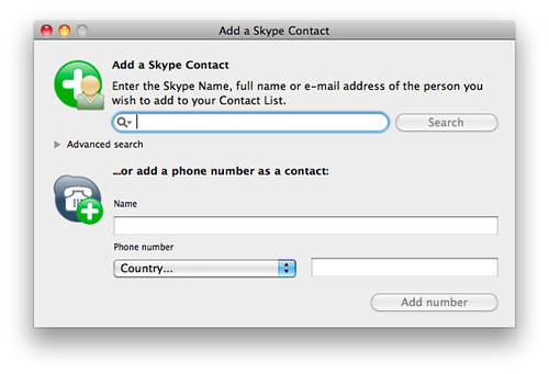 how to add skype contact by email