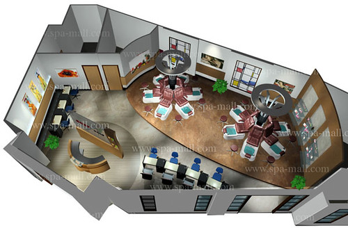 Pedicure spa layout salon design salon design ideas for 3d salon floor plans
