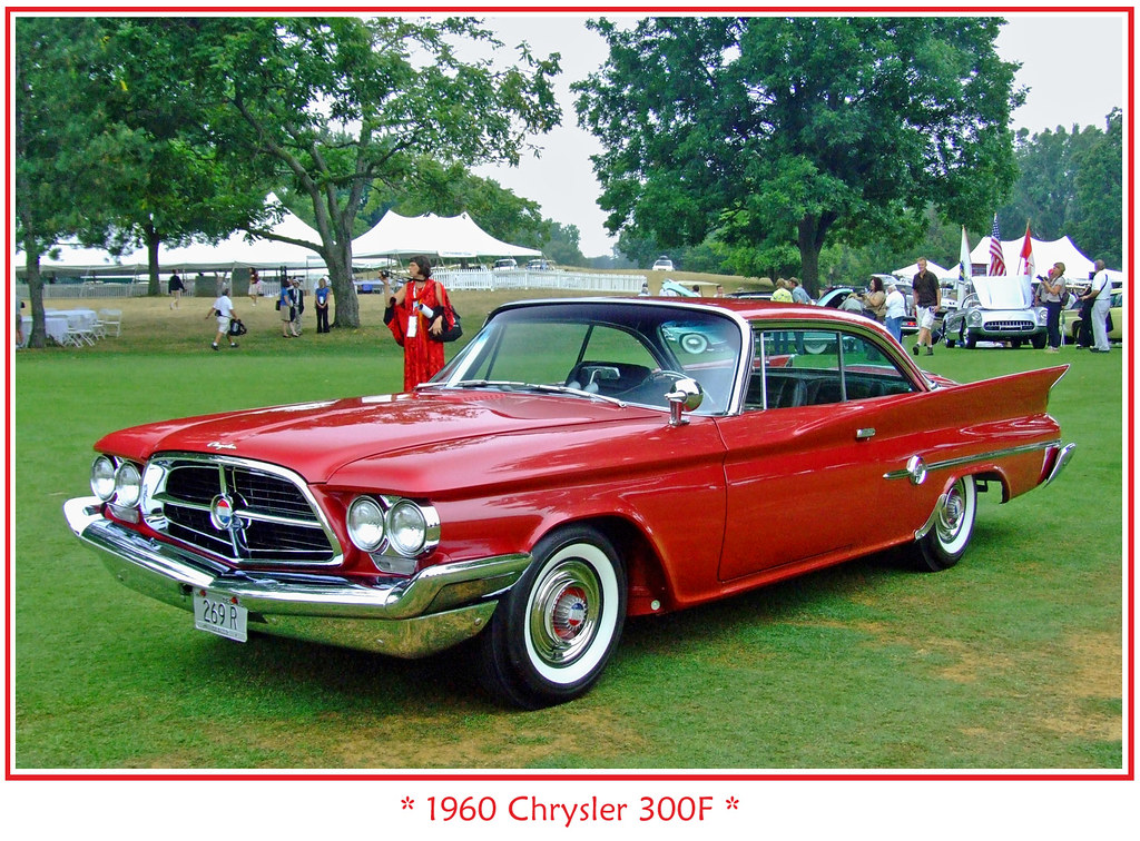 Chrysler 300 White >> 1960 Chrysler 300F | The August 5, 2007 Meadow Brook Concour… | Flickr