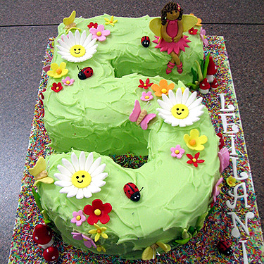 Number 5 Fairy Garden Cake Www Gertieandgilbert Com