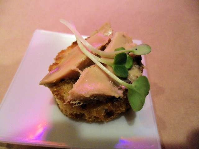 Foie Gras Torchon Bruchetta | This is really delicious! Too ...