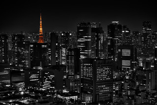 Tokyo tower at night | by Sprengben