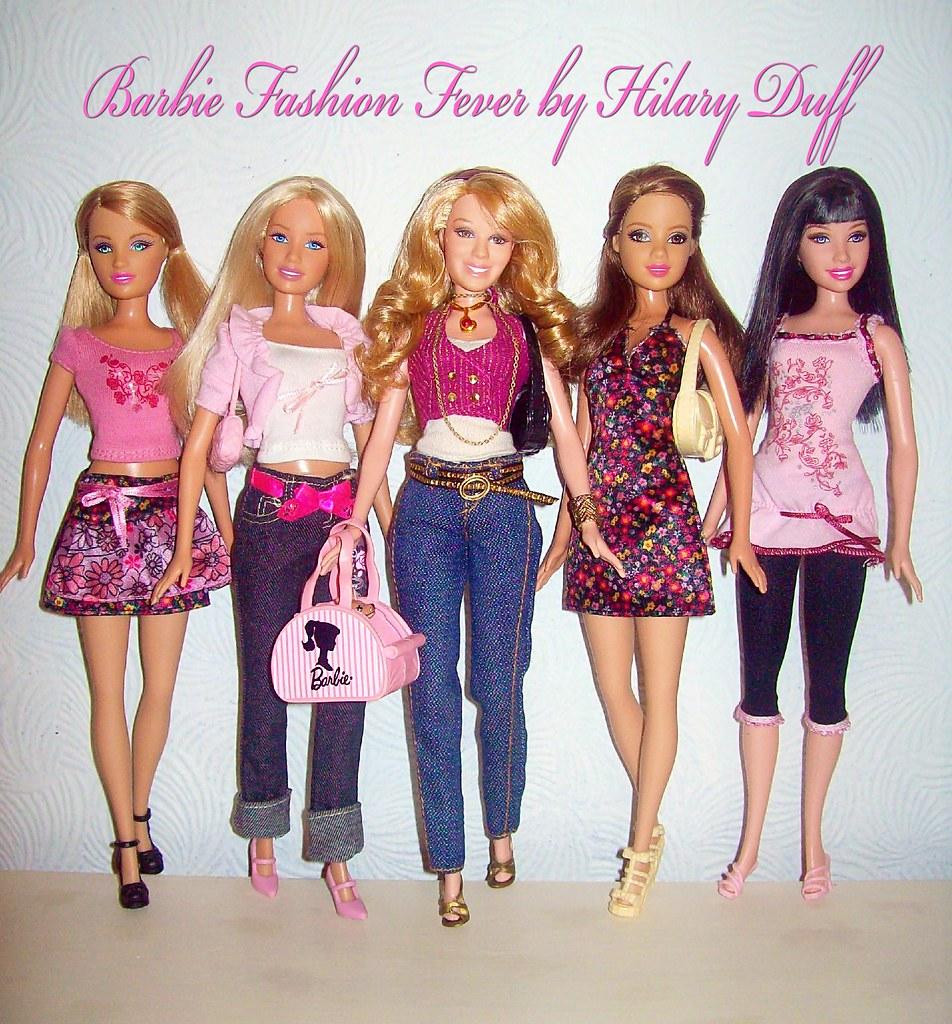 Barbie Fashion Fever Clothes