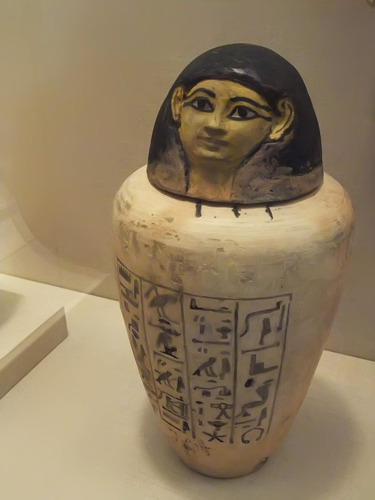 Canopic Jar Of Amunhotep Chief Builder Of Amun Egypt New K