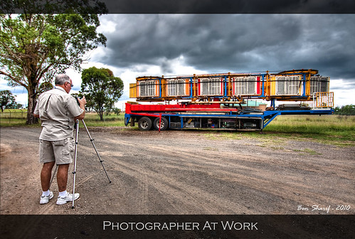 Royda at work - Penrith Flickr HDR assignment | by CrazyNotion (wandering and wondering)