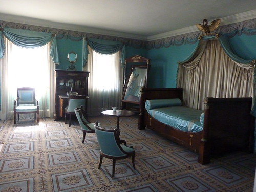 Eliza jumel s bed chamber 1826 1830 morris jumel for 65 jumel terrace new york