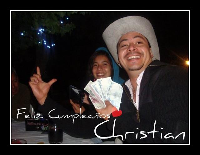 Christian Negron Feliz Cumpleaños Primo Te Quiero Mucho Flickr
