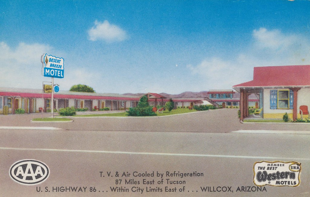 Desert Breeze Motel - Willcox, Arizona