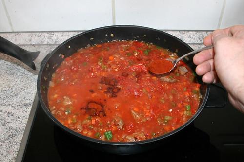 48 - Geräuchertes Paprika einstreuen / Add smoked paprika