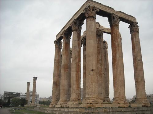 Olympieion, Temple of Olympian Zeus 01  Fotoula B.  Flickr
