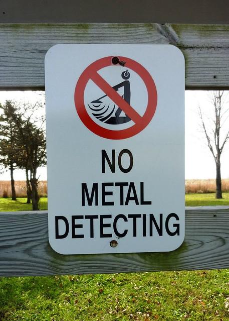 Metal Detector Permission Get Permission Before You Go