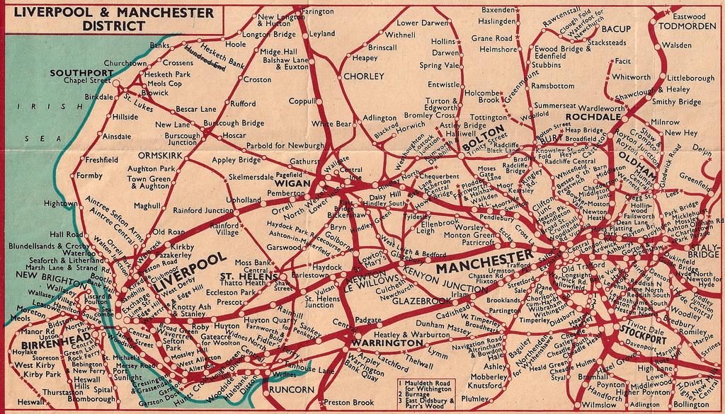 British Railways London Midland Region Manchester Live Flickr - London map manchester