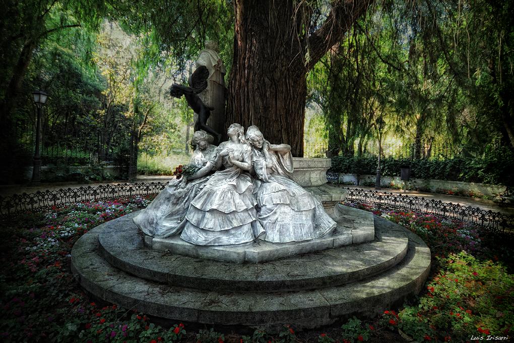 Monumento a Gustavo Adolfo Bécquer. Parque de María Luisa.