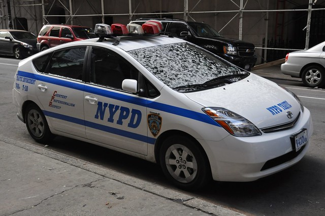 New Toyota Prius >> NYPD Toyota with Snow | A Traffic Enforcement Toyota Prius. | Flickr