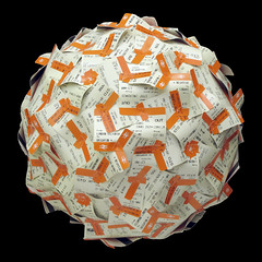Train tickets sphere