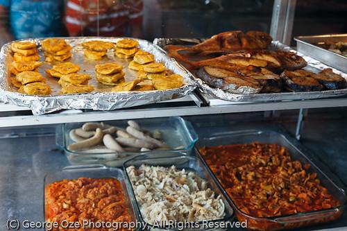 Display in a Food Kiosk, Puerto Rico | Display in a Food Kio