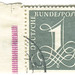 Germany Postage Stamp: numeral 1