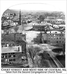 Court Street and West Side of Central Square, Keene NH | by Keene and Cheshire County (NH) Historical Photos