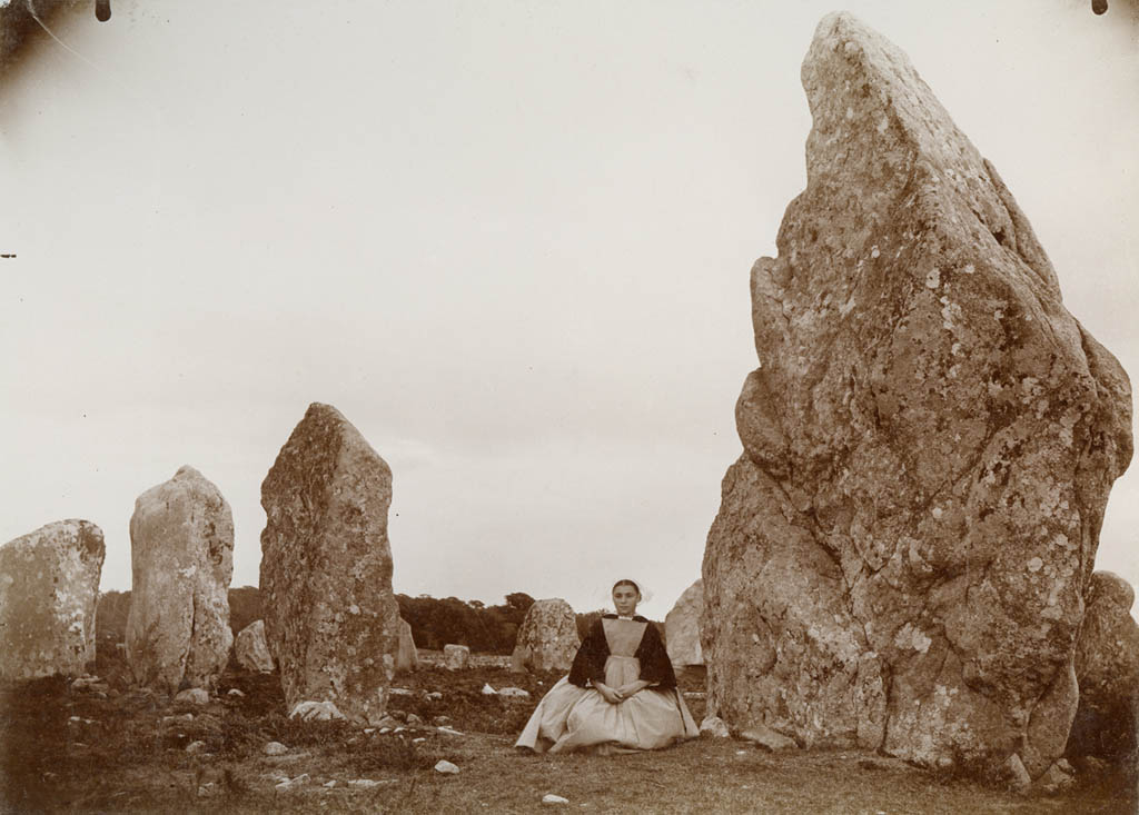 Standing Stones At Kermario  Carnac  Britanny  France