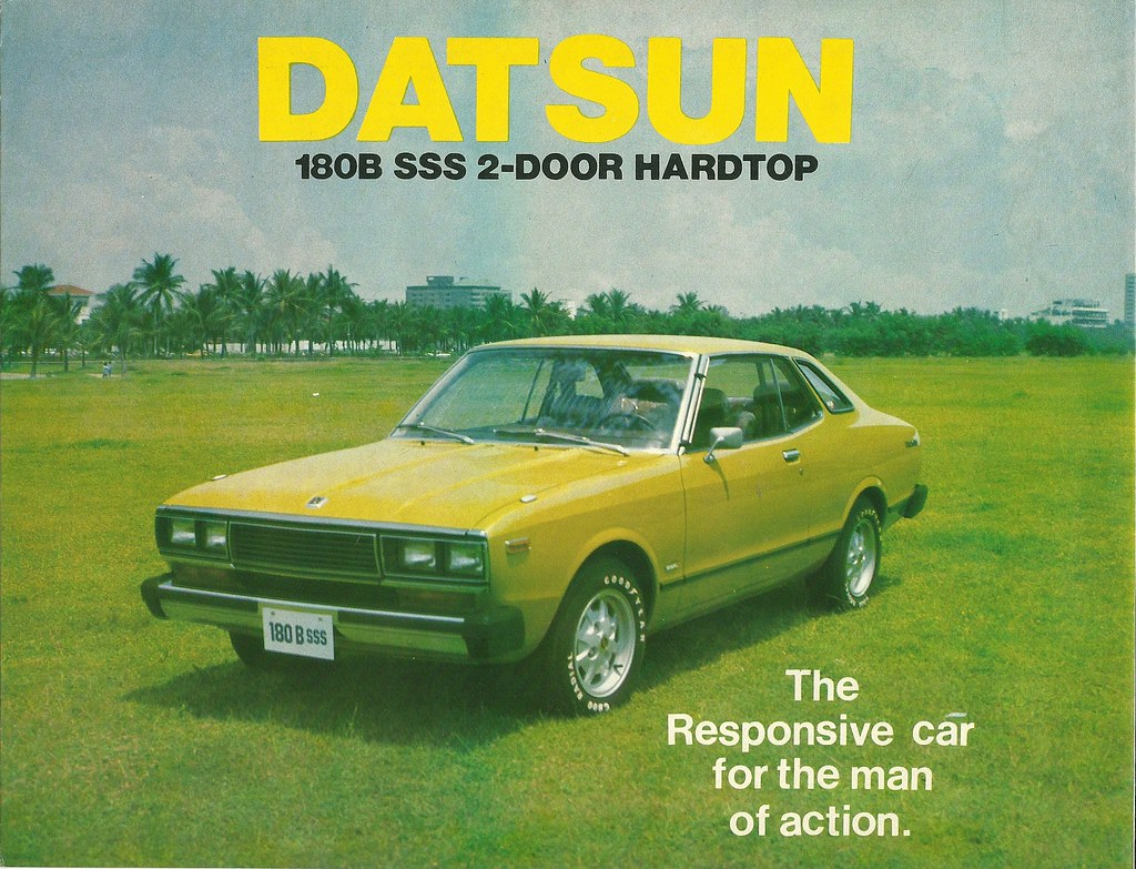 Datsun 180b Sss 1980 Version Of The 810 Bluebird U