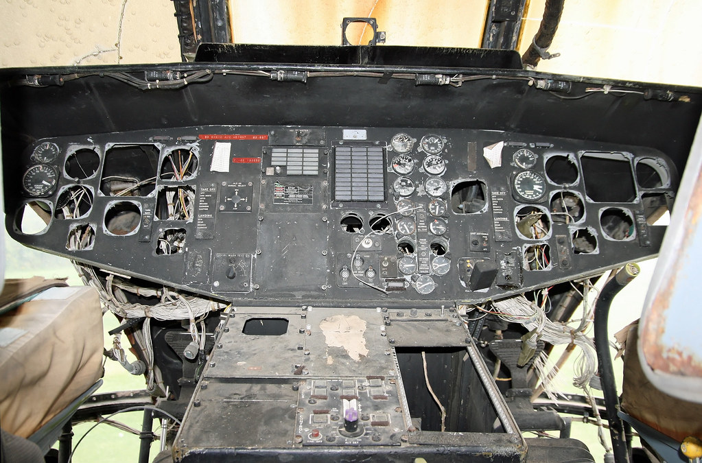 ... Sikorsky HH-3F Pelican (66-153292) - Cockpit, Main Panel |