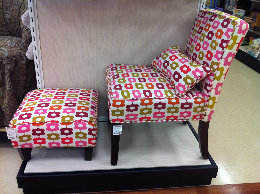 Chair With Calliope Fabric Spotted At Homegoods Stores