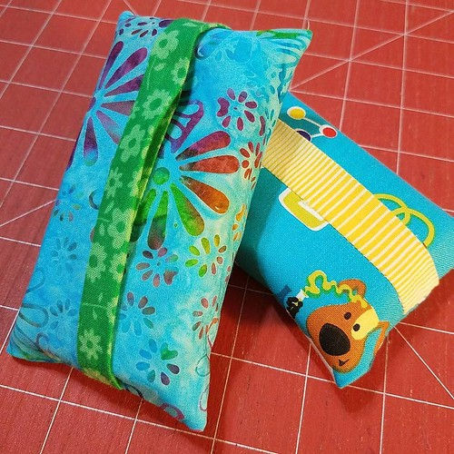 Last minute tissue packets for a couple of #carepackages.
