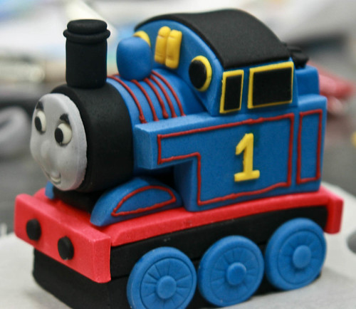 Thomas The Tank Engine Fondant Cake Topper