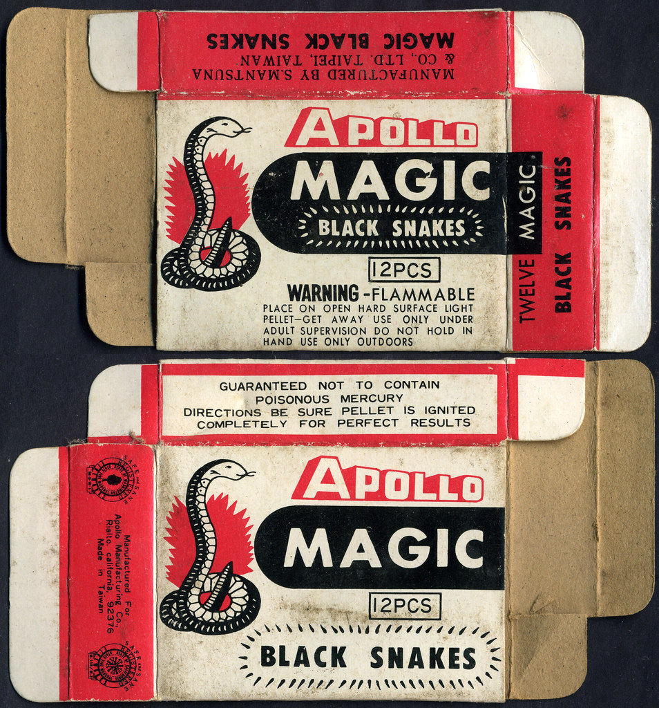 Snake Magical Magic Black Snakes