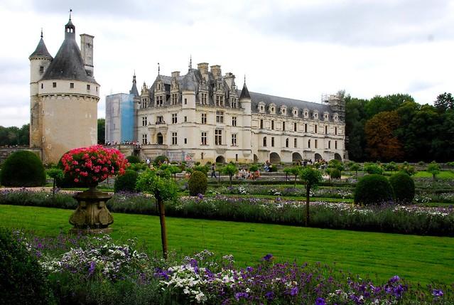 castle garden of chenonceau le ch teau jardin de chen