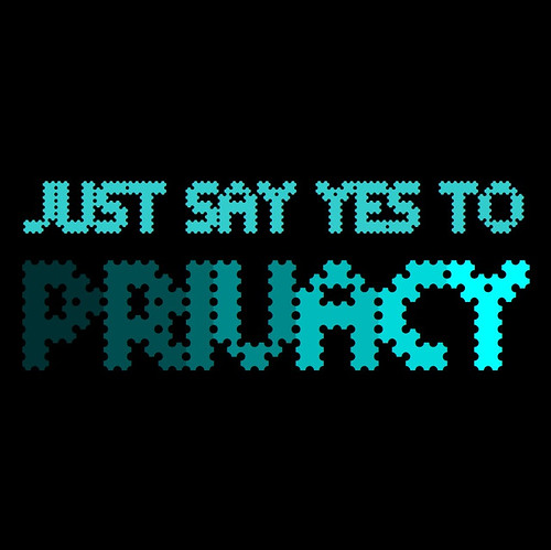 JUUST SAY YES TO PRIVACY | by Michael Francis McCarthy