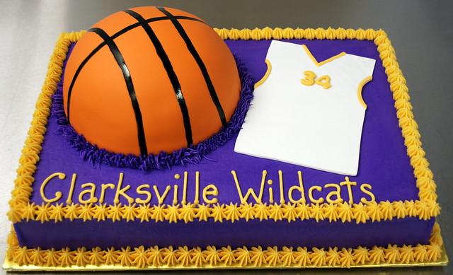 Jersey Shaped Cake