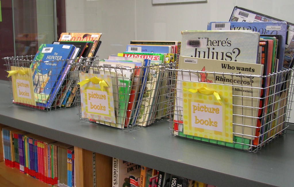 Picture Books We Have Displayed Our Junior High School