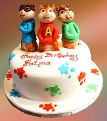 alvin and chipmunks cake Svetlana Nikolova Flickr