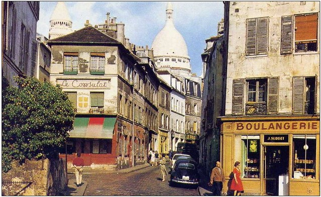 Montmartre 1960 Retroviseur Flickr
