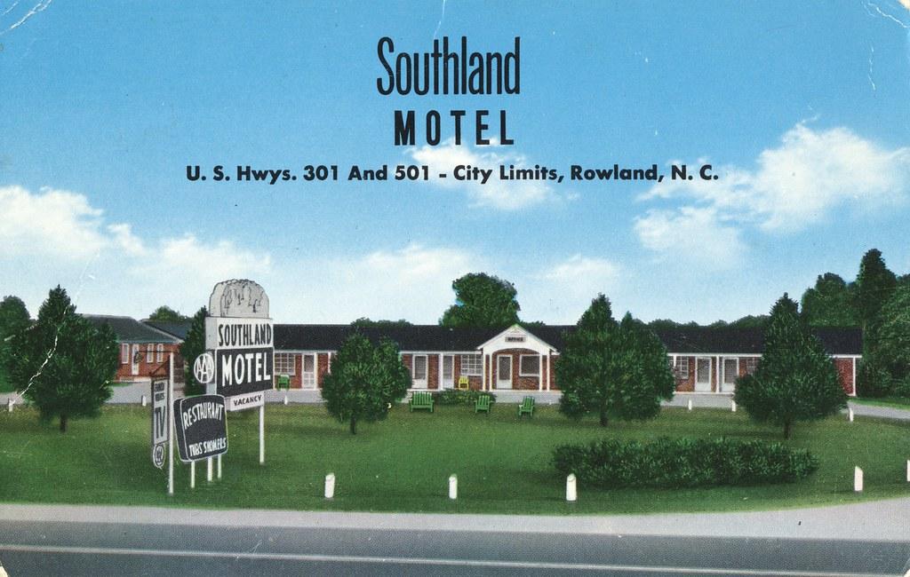 Southland Motel - Rowland, North Carolina