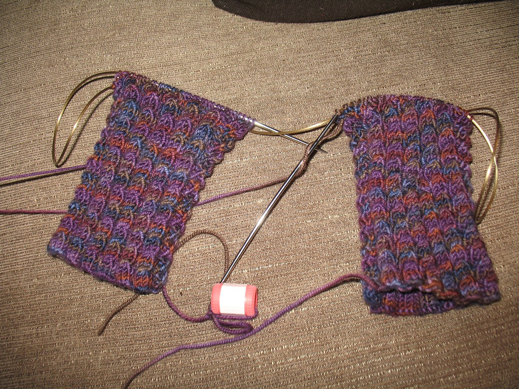 Knitting Vintage Socks Nancy Bush : Mom s socks pattern is bed from nancy bush book