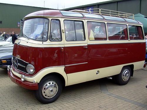 Mercedes Benz Travel Van >> 1965 Mercedes Benz minibus | What a lovely way to travel! | Flickr