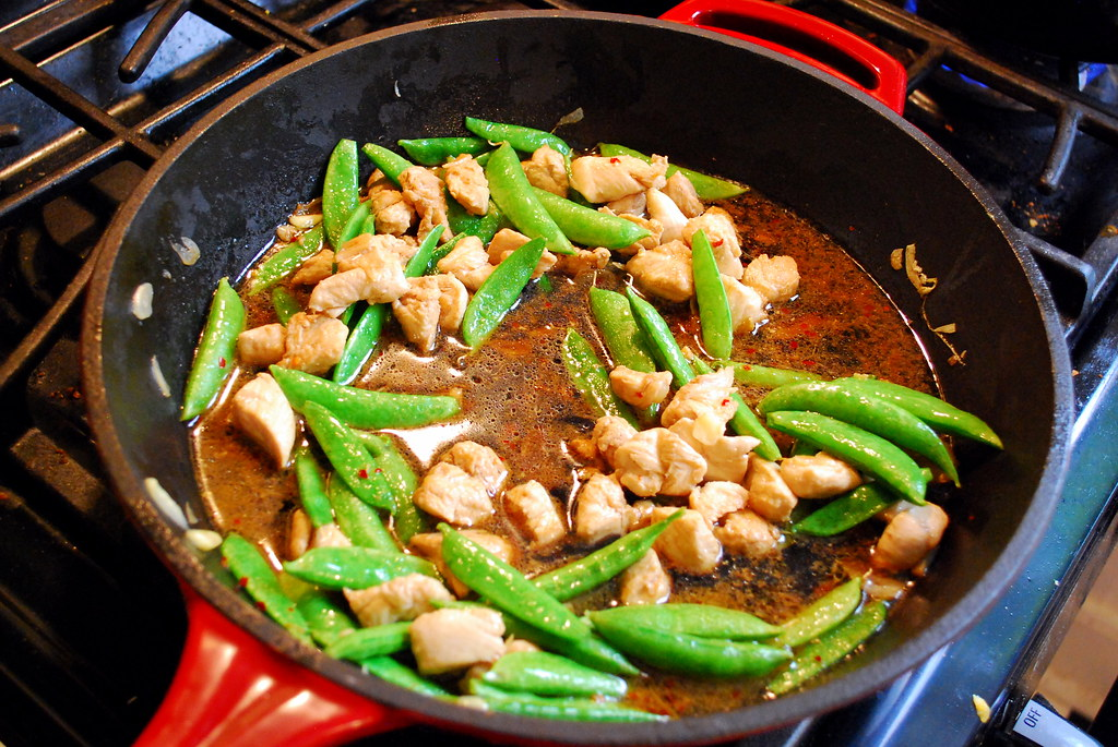 Chicken-Sesame Stir-Fry