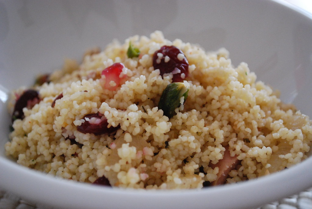 Jeweled Couscous | With cranberries, pomegranates ...