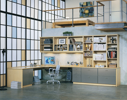 Loft Home Office Studio Custom Home Office closets and Hom Flickr