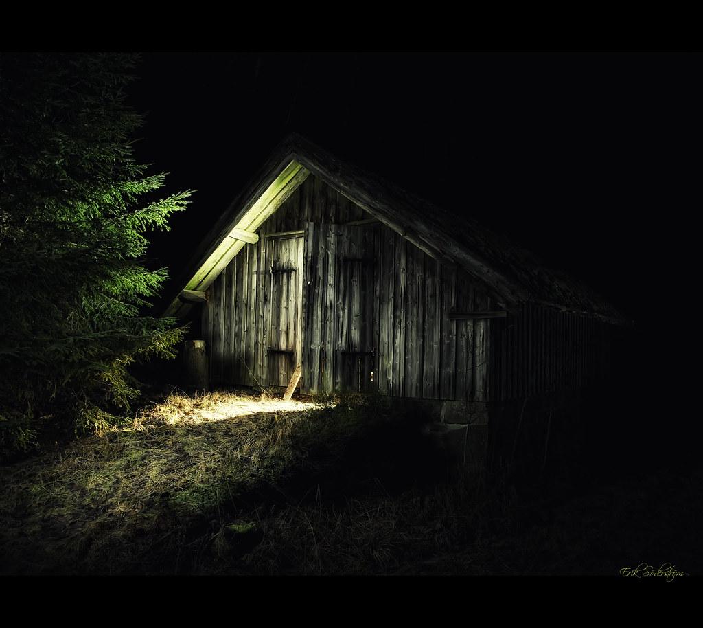 Svartedalen House At Night 2 Photog Lobb Large On