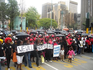 Re: Pictures and Report Back from the Johannesburg Global Day of  Climate Action 2009 | by The World Wants a Real Deal