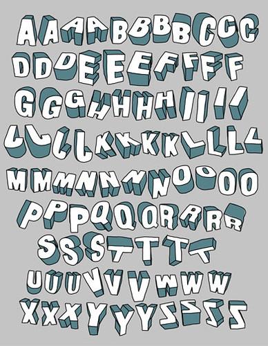 3d Font Type Typography Tim Degner Flickr