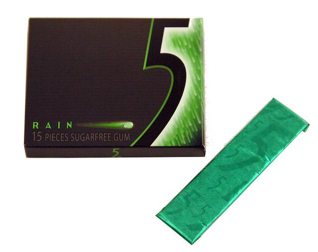5 Gum, Rain, Spearmint | 506072 10ct | Tropical Foods | Flickr