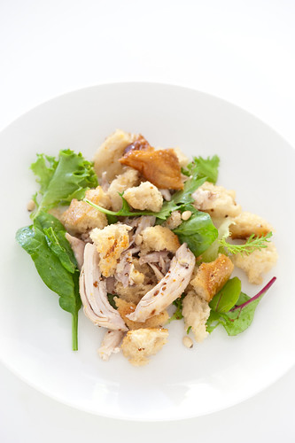 roast chicken & bread salad | by jules:stonesoup