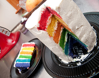 Rainbow Cake Surprise Magimix
